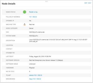 Linux Server via Agent